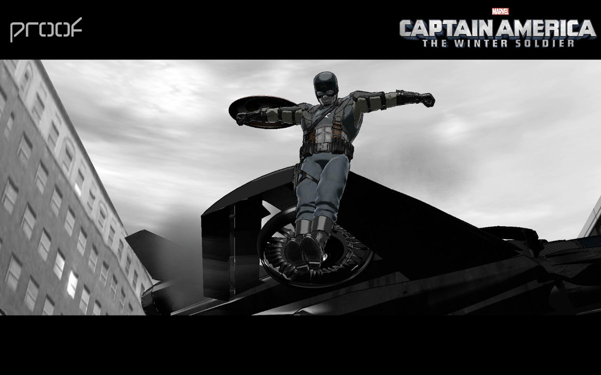 Captain America The Winter Soldier Reaching New Heights