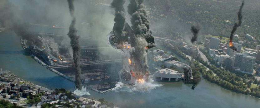 The Helicarriers are ultimately destroyed.
