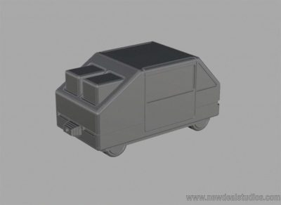 3D 'mouse' car model for the Vizio commercial.