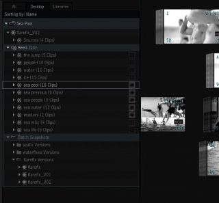 The new Desktop includes Batch & Batch Snapshots as well as Reels.