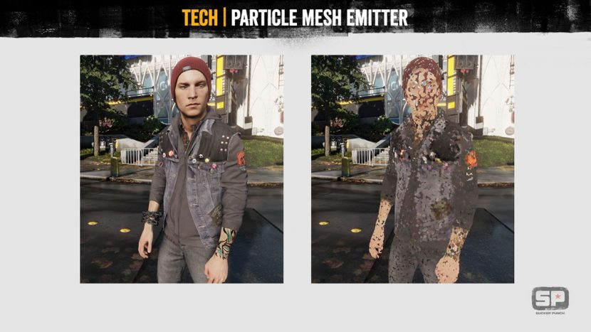 Particle mesh emitter.