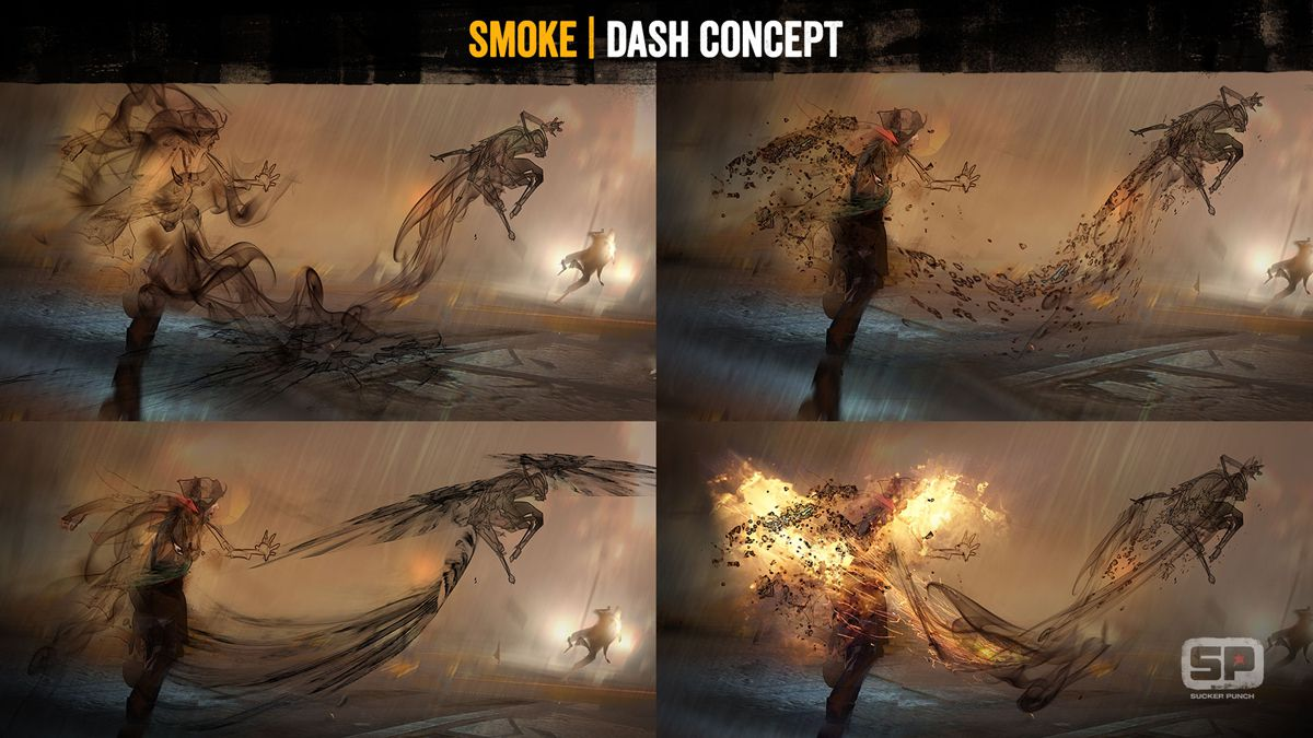 how to make the direction of cigarette smoke visible