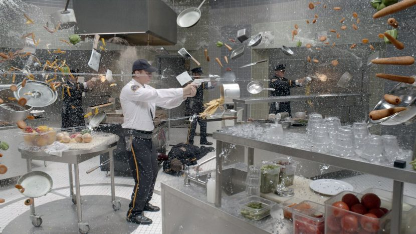 Rising Sun Pictures worked on the stunning Quicksilver kitchen scene.