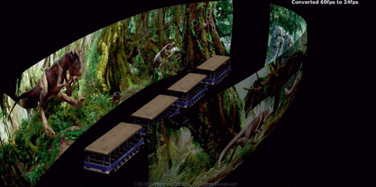 King Kong 360 3d Universal Studios Hollywood the tram in King Kong