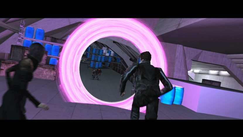 The Third Floor's previs work included the portals.