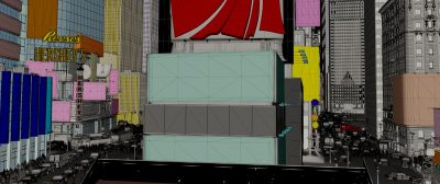 Times Square model.