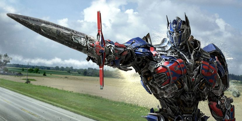Optimus Prime has four different configurations throughout the film.