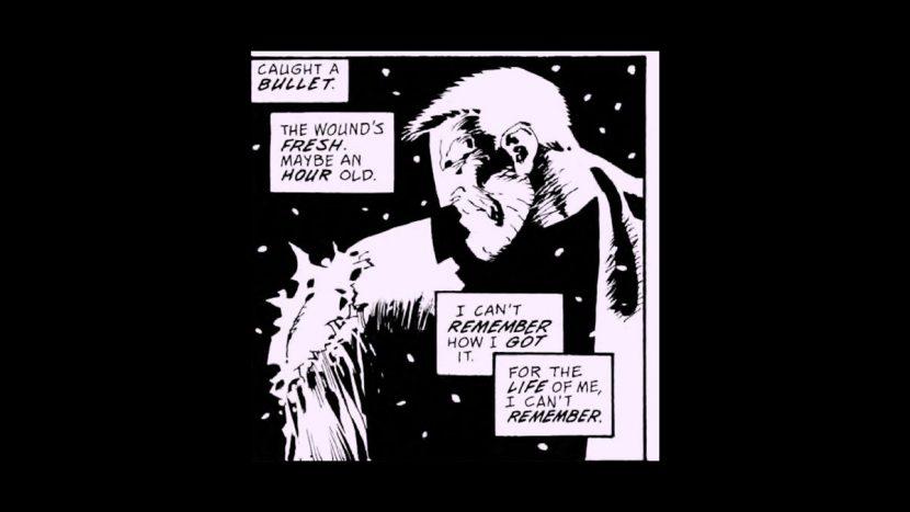 Frank Miller panel.