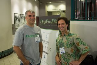 Doug Epps and Larry Cutler - 2 of the organizers of DigiPro 2014