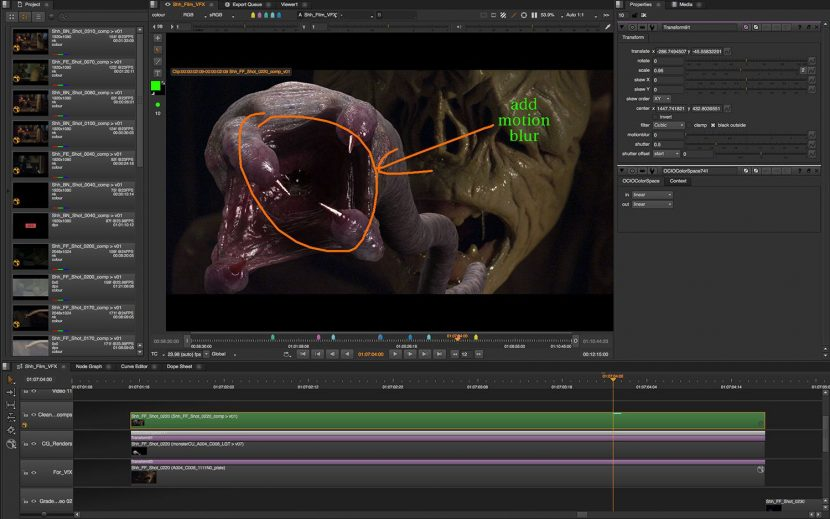 Nuke Studio Annotations