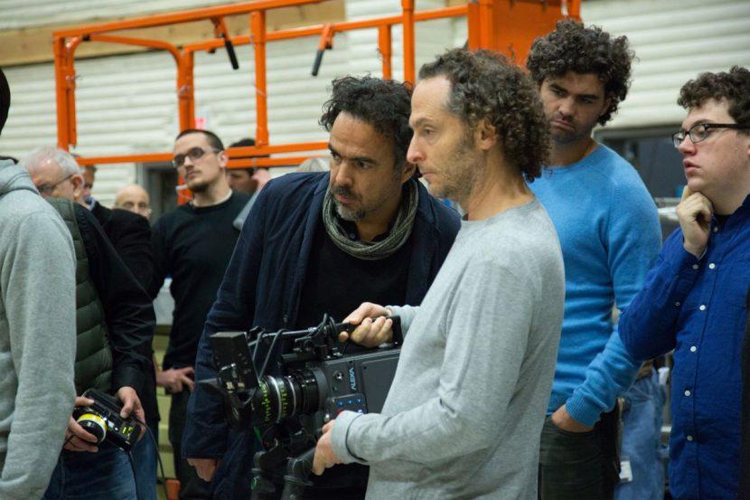 Director Alejandro González Iñárritu and DOP Emmanuel Lubezki.