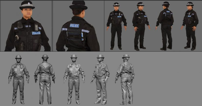 Scan and textures for PC Forrest (Jessica Hayles).