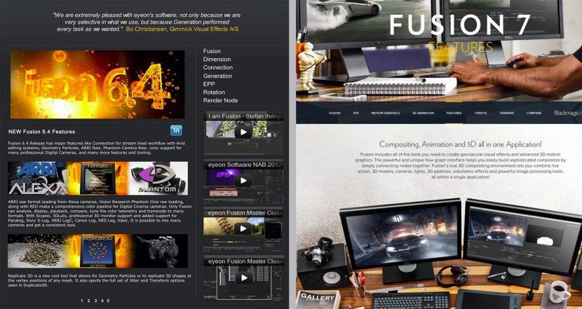 fusion7-websites