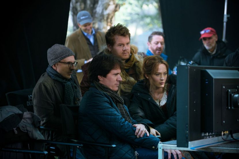 On the set of Into the Woods.