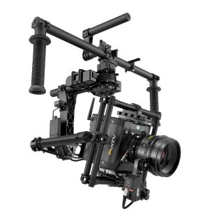 The Mini with active lens motor on a Freefly MOVI M15 rig.