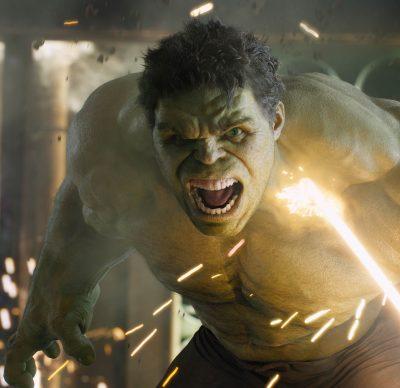 Hulk, from The Avengers.
