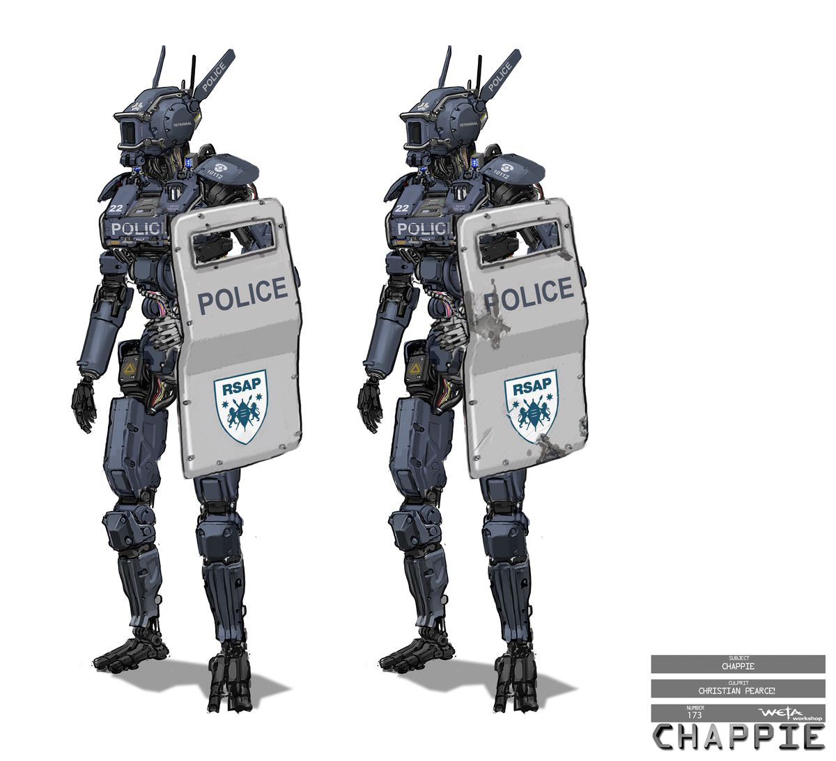 The practical and digital tech behind Chappie – fxguide