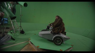 Greenscreen shoot - Hagrid.