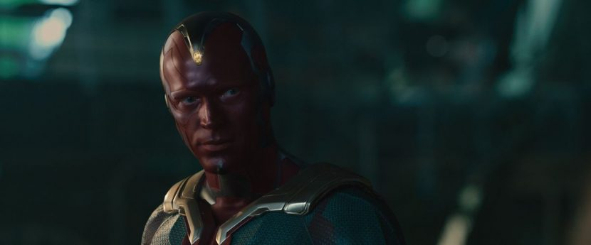 Paul Bettany as Vision.