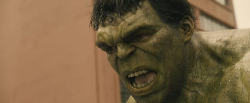 ILM worked on new muscle and skin simulation for Hulk.