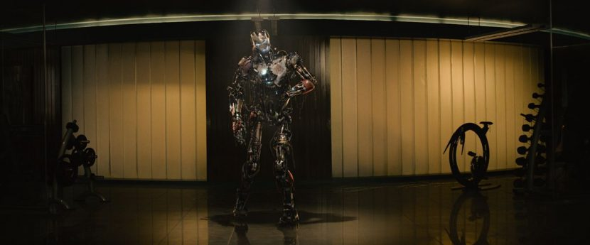Trixter had to contemplate theatrical lighting to bring Ultron Mark I to life.