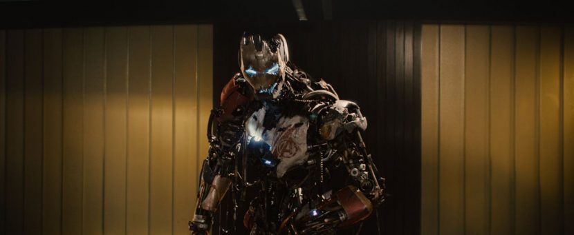 Ultron Mark I - in kluged together form.