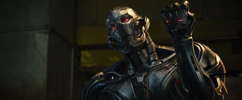 The character required complicated facial animation despite its metallic face.