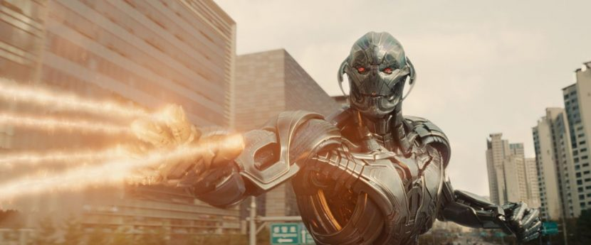 Ultron uses his powers against Cap.
