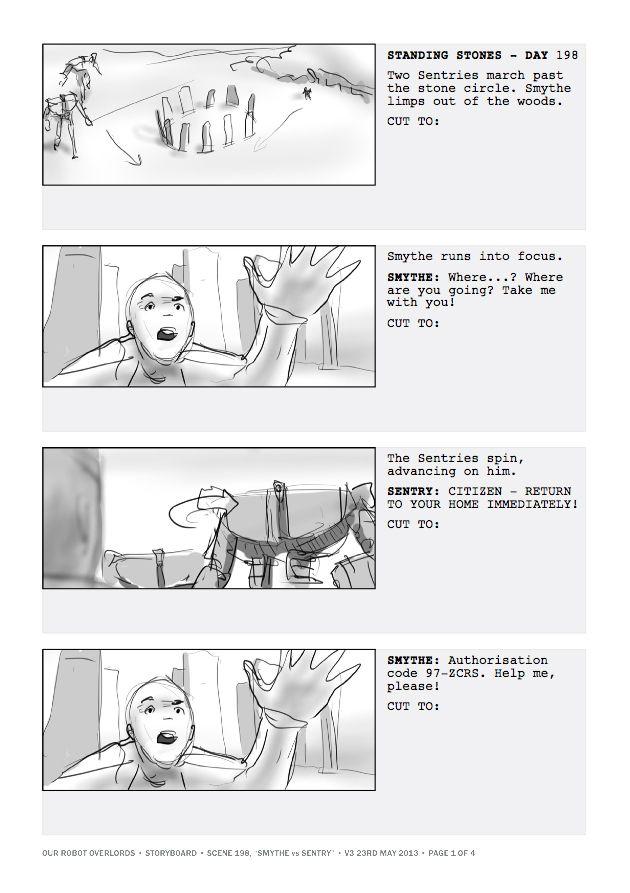 Storyboard.
