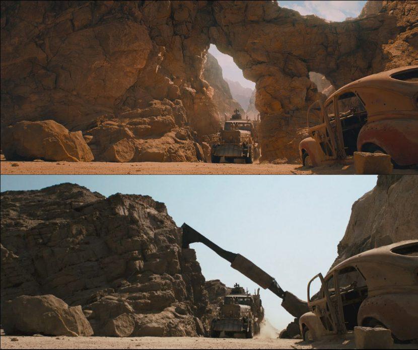Canyon comparison shot. VFX by Fury FX.