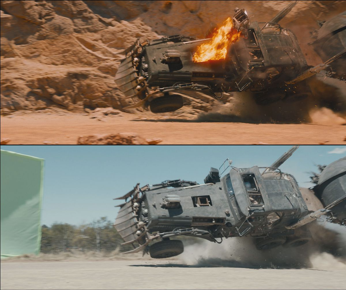 A graphic tale: the visual effects of Mad Max: Fury Road – fxguide
