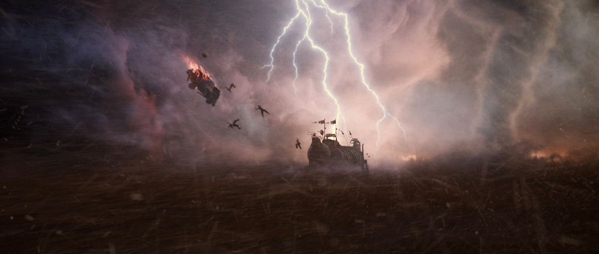 A graphic tale: the visual effects of Mad Max: Fury Road