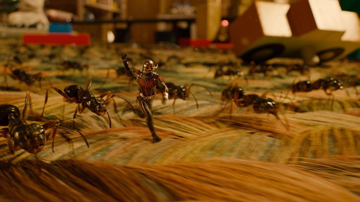 Ant-Man: Marvel\'s heist film | fxguide