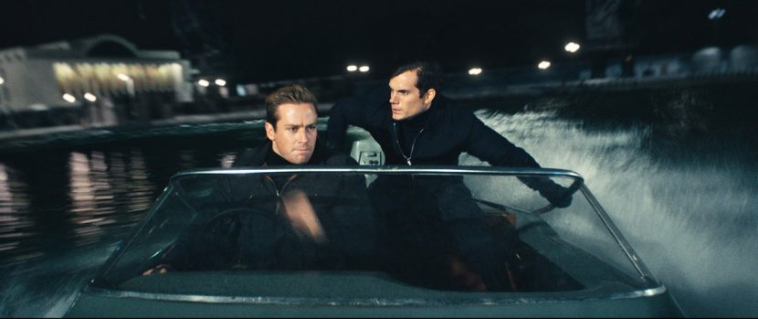 Armie Hammer and Henry Cavill.