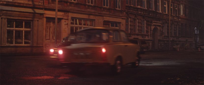 RiseFX helped stage the weaving car chase through Berlin.