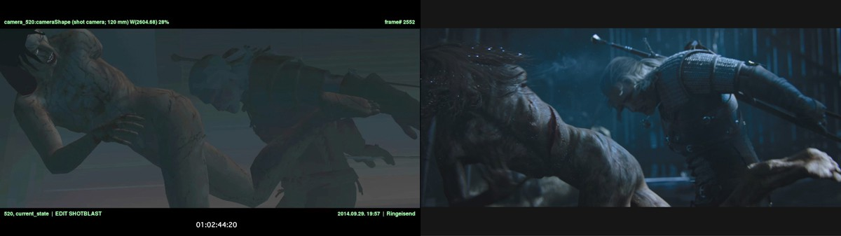 Behind the scenes of Digic's Witcher 3 cinematic   fxguide