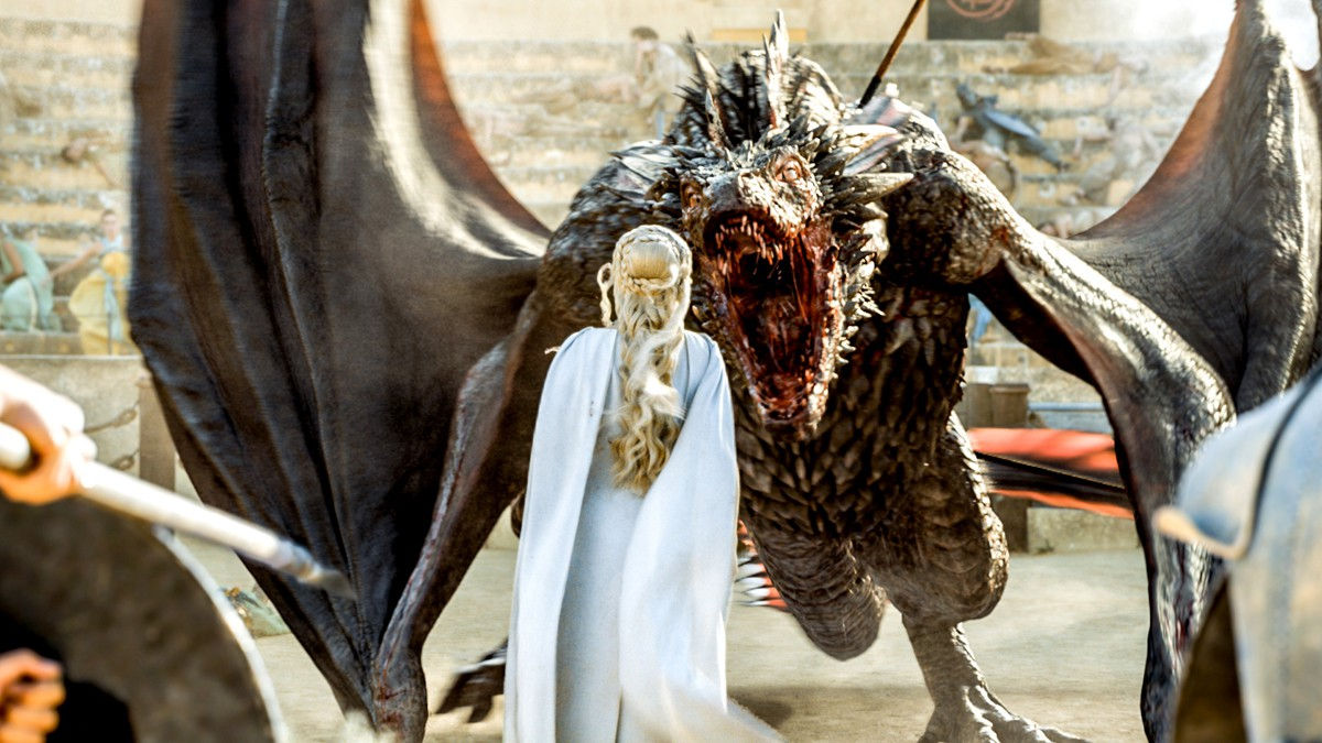 Game of Thrones' fifth season of extraordinary effects ... Game Of Thrones Dragons Season 5
