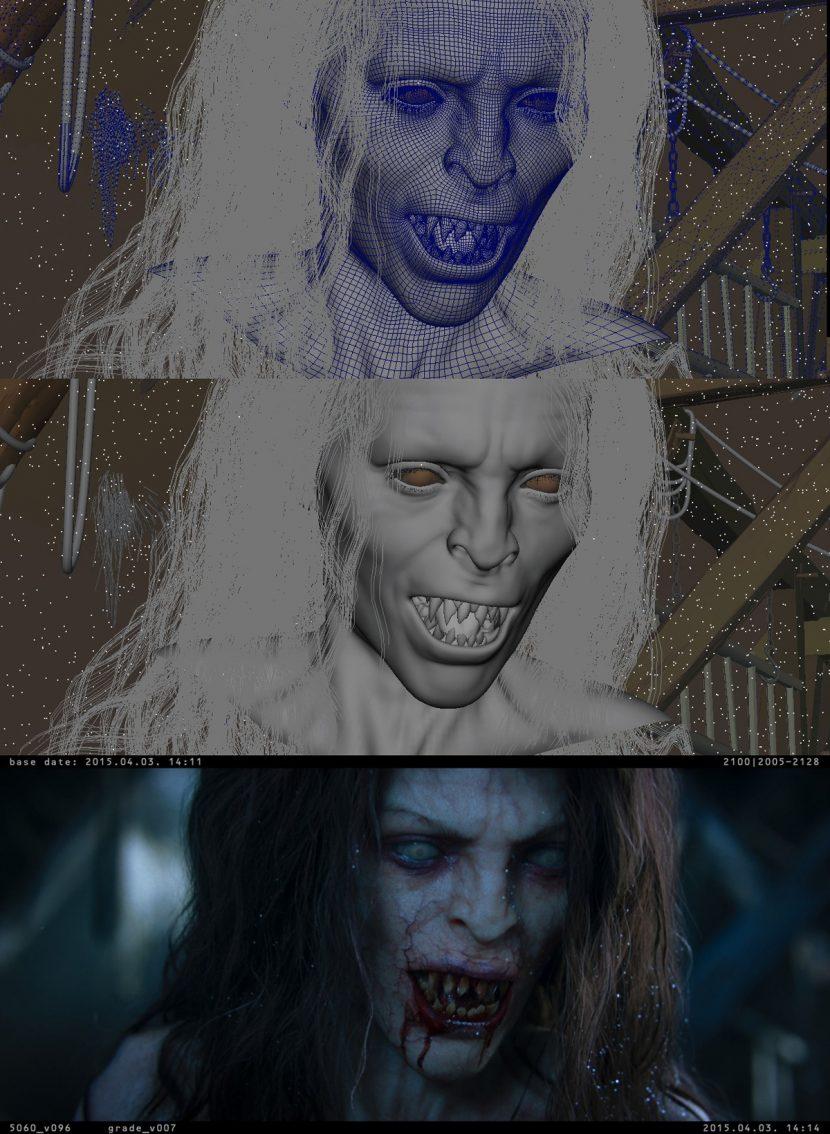 Character progression.
