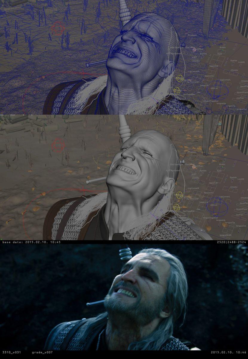 Geralt progression.
