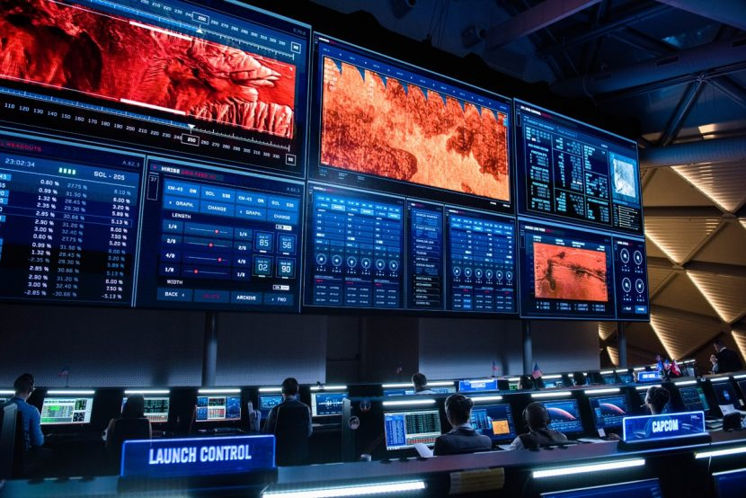 Another view of Mission Control.