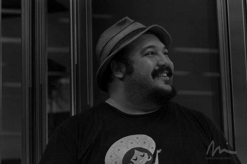 Director Jorge R. Gutierrez. Image courtesy Michael Rubin. Website: http://www.byrubin.com.