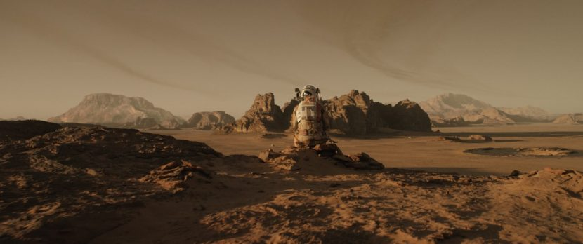 Watney contemplates his future on Mars.