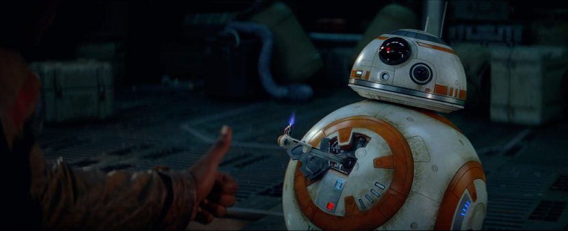 BB-8 gives the thumbs up.