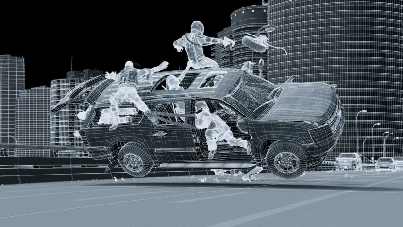Atomic Fiction handled the freeway chase VFX which included fully CG environments, vehicles and actors.