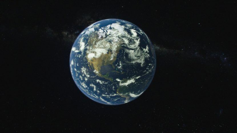 """The one thing that's in that shot that a lot of people probably won't catch is when we finally pull back to a wide shot of the Earth, Gabe Rotter, who is a co-producer on the show, had as add just a glimmer of light in the background as if people would say, what was that? Just a small glimmer in the back star field."""""""