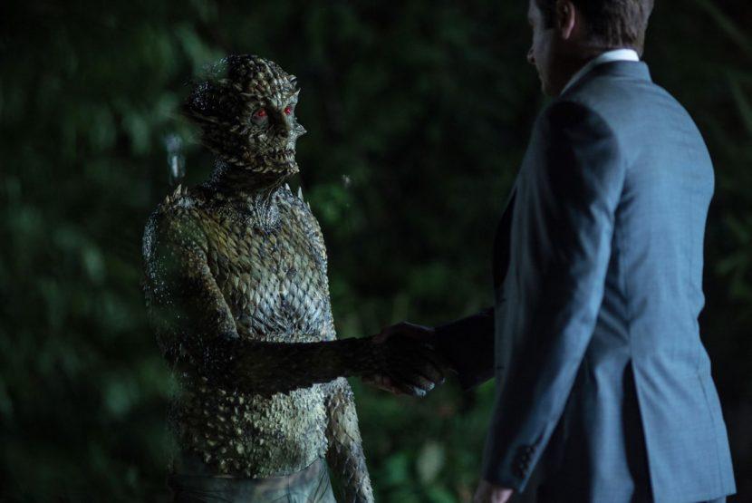 Mulder meets the Were-Monster.