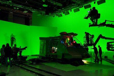 Virtual production on Blood & Chrome.
