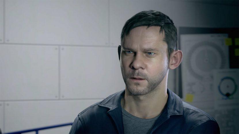 William Joyce (Dominic Monaghan) in-game.