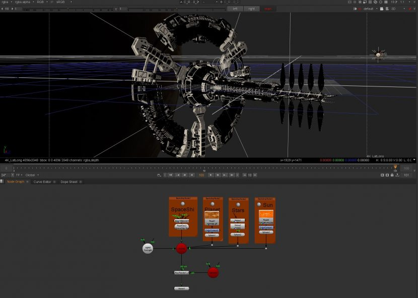 RayRender_SpaceShip_Before