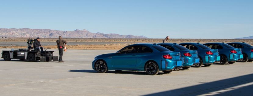Camera car and the BMWs